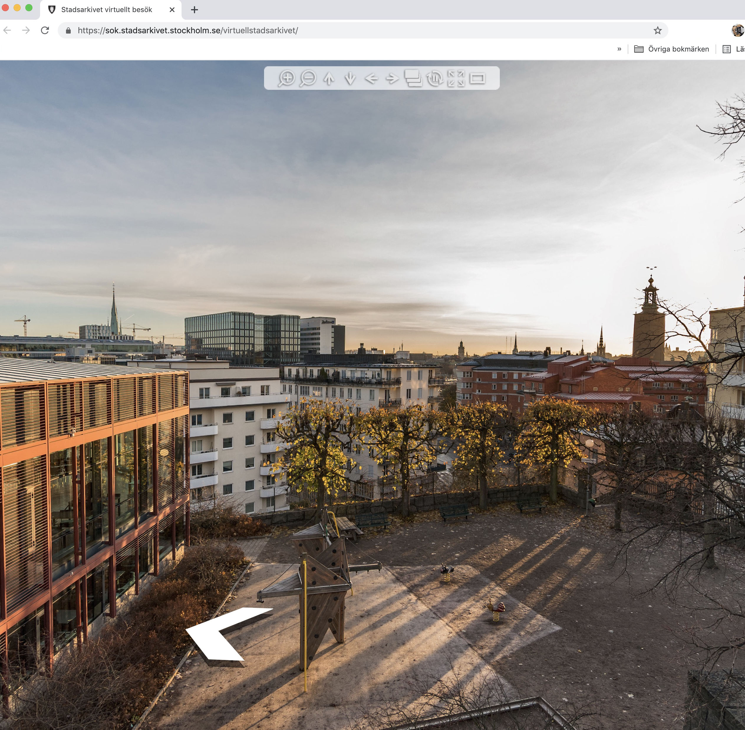 360 panorama foton på egen server