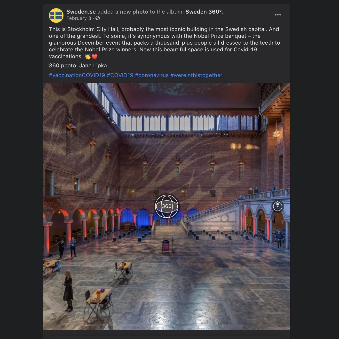 panoramafoto för facebook